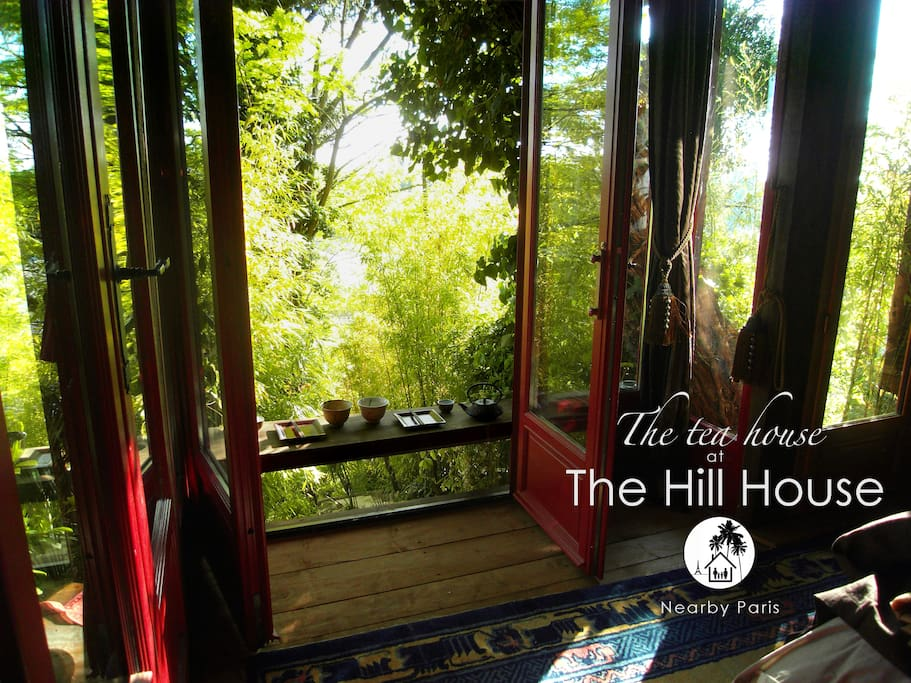 The Tea House: la chambre