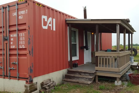 Container House - Van Alstyne - 小木屋