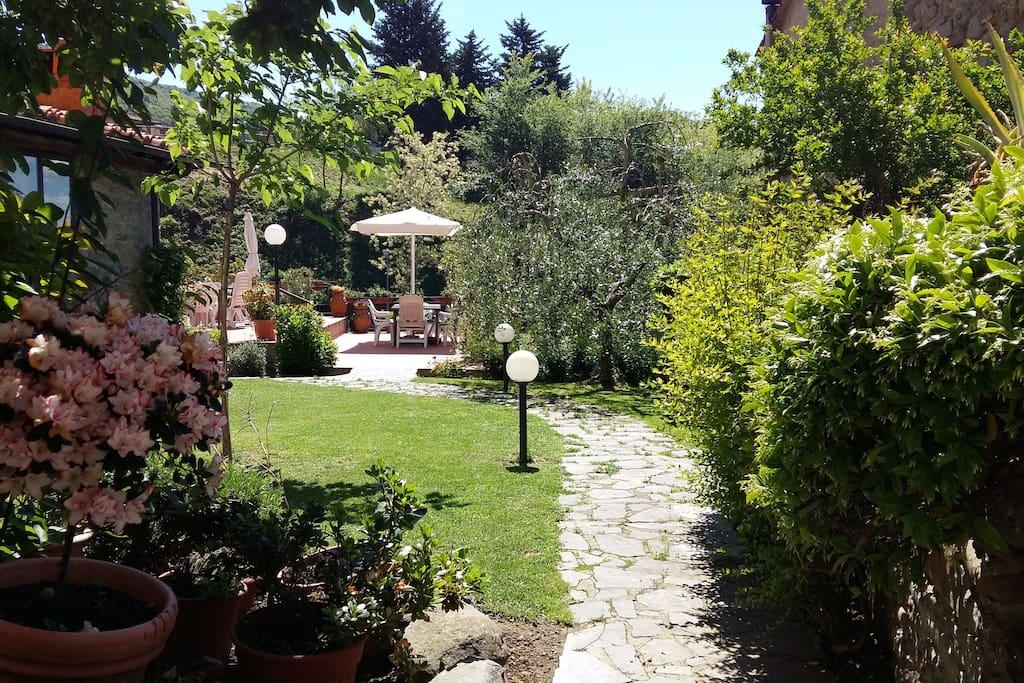 Giardino e terrazze