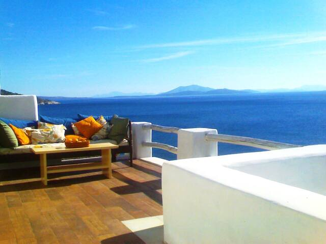 "Villa Nascosta...."" away from it all "" - Naxos Island - Villa"