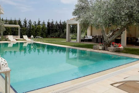 Coral Luxury Villa on Evia Gulf - Khalkis
