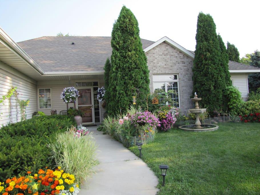 Front Garden ( Early summer 2014)