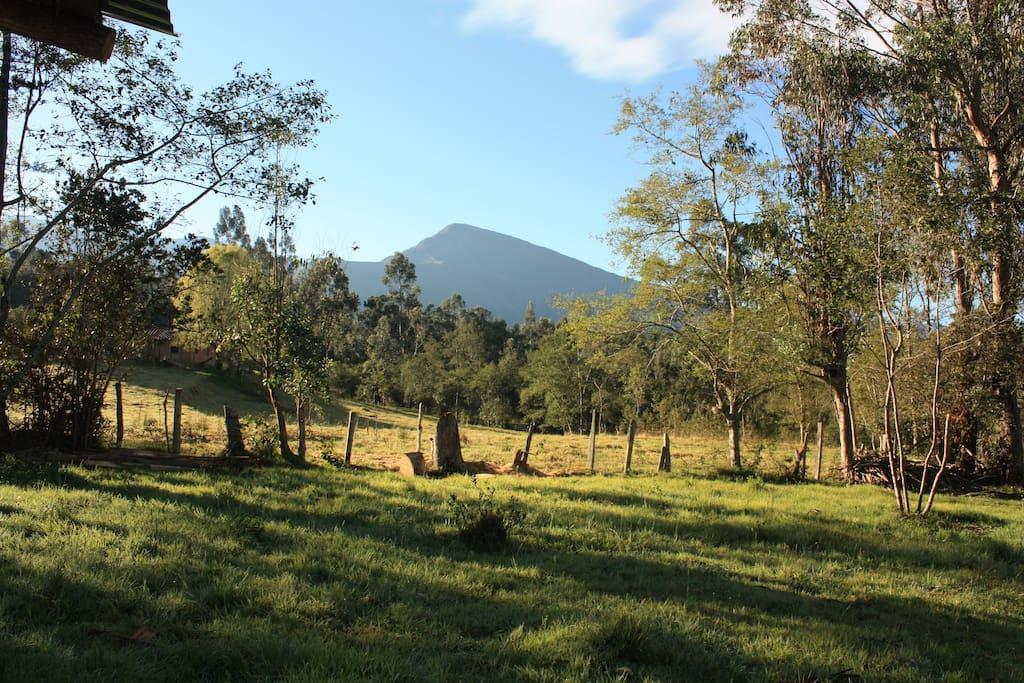 hermosa vista a Iguaque, Parque Natural