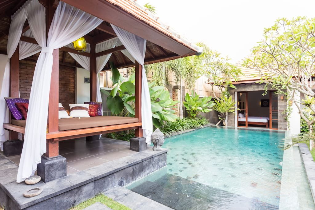 Gazebo & pool