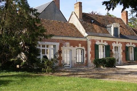 卢瓦尔堡( HOUSE CHATEAUX DE LA LOIRE ) 2间卧室,可容纳4人。