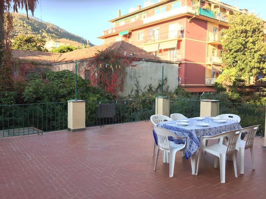 Roma apt in centro con ampia terrazza appartamenti in for Affitto c1 roma centro