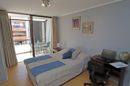Room excellent location mall and sky Las Condes