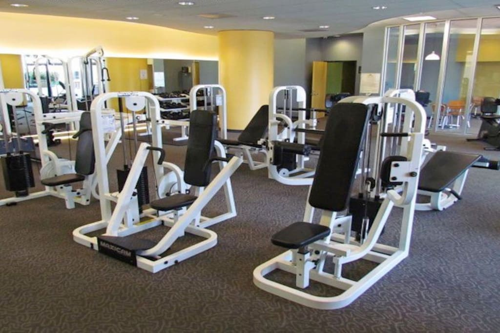 State of the art gym