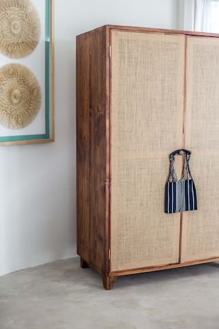 These wardrobes were made from local sustainable woods, we are eco-friendly.