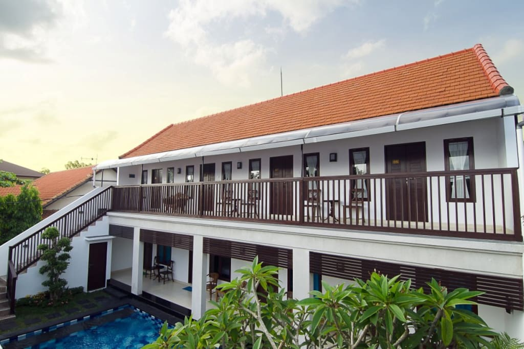 total 8 rooms accomodate Up to 16 people Sanur guest house