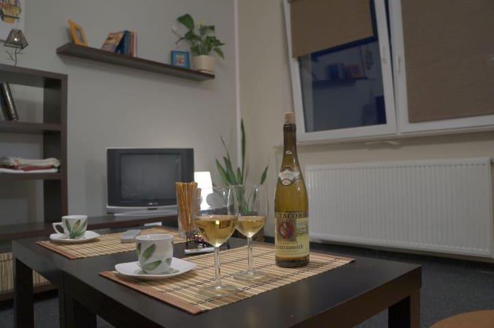 Apartament z kuchnią - 2 osobowy