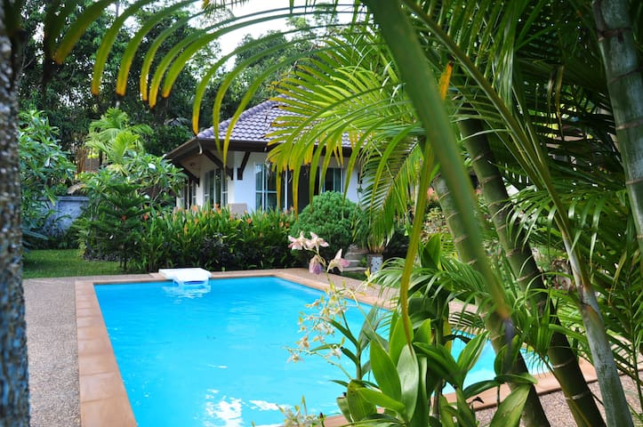 Holiday Villa-Cottage 100m from sea (H1) - Ko Lanta Yai - Rumah
