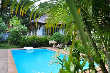 Holiday Villa-Cottage 100m from sea (H1) - Ko Lanta Yai - Hus