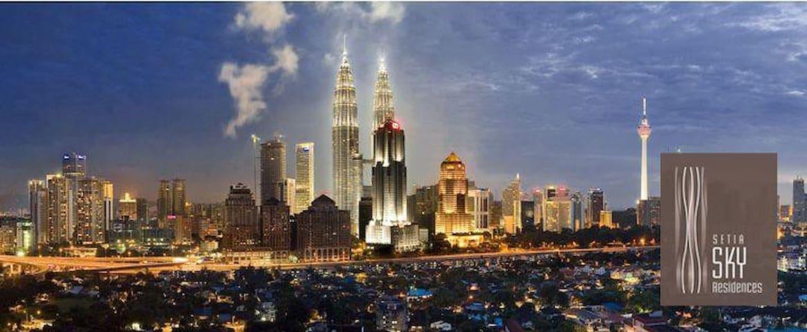Best view in KL. - Kuala Lumpur - Apartment