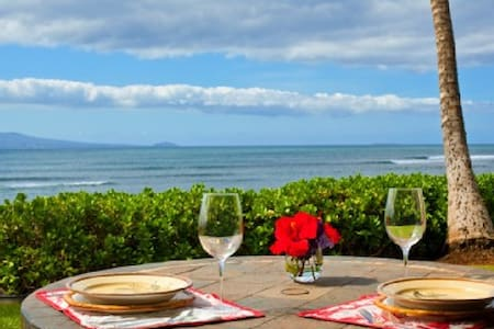 Ground-floor, Oceanfront Maui Gem!