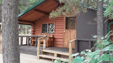 A Real Log Cabin