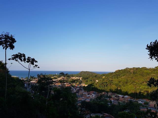 Casa em Itacaré com vista para o Mar