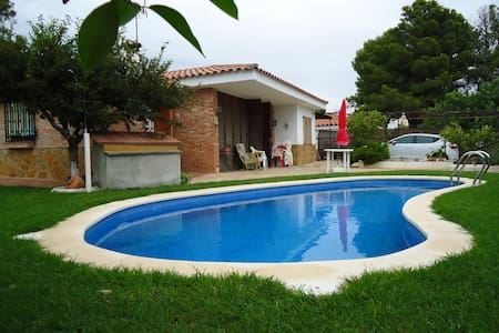 Chalet with private pool and barbecue - Pinós de Miramar