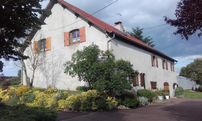 Chambre  d'amis - Saint-Romain-sous-Gourdon - Hus