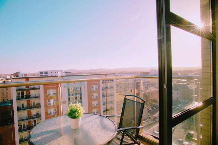 VP City View Apartment; Free secure parking