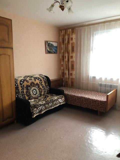 Квартира-студия с шикарным видом на Оку