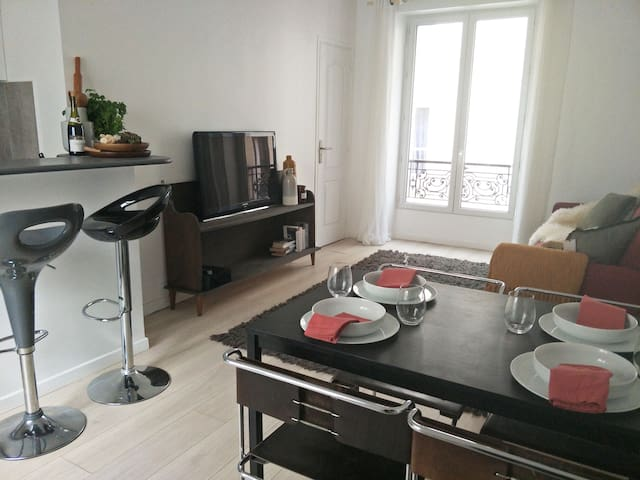 Spacious and fresh appartment in the 11th