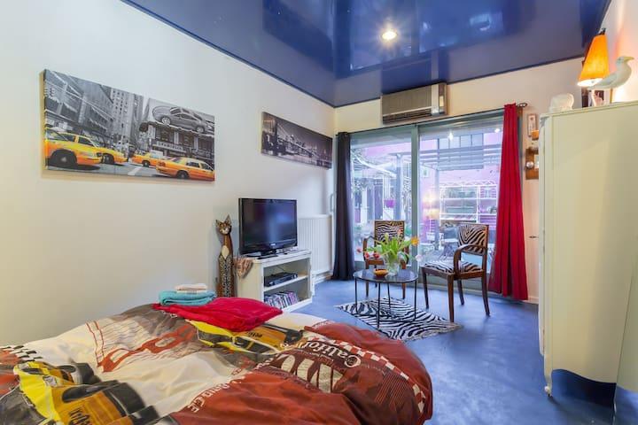chambre dans grande maison chaleureuse - Villeurbanne - Rumah
