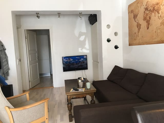 Light, spacious two-room apartment - Aarhus - Flat
