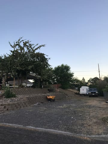 Large RV lot downtown Madras for eclipse/festivals