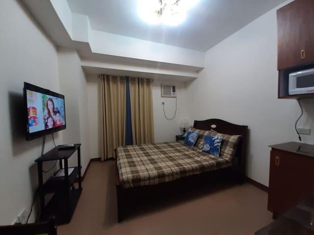 Studio Unit Cubao Quezon City (MONTHLY RENTAL)