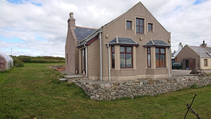 Whinnyfold home, double bedroom and great views