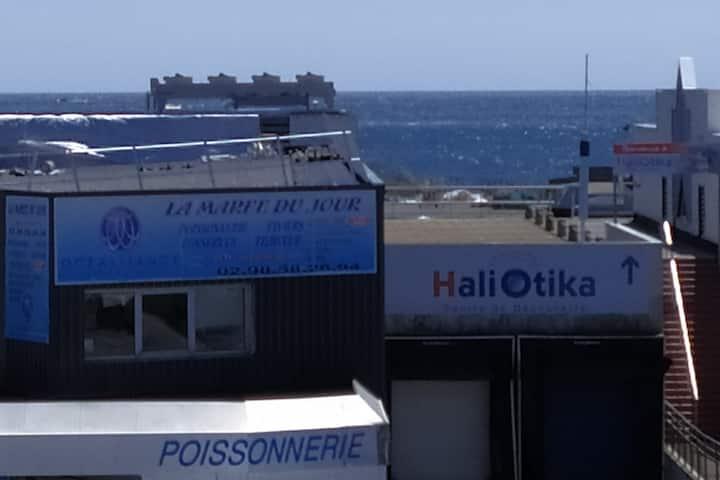 Duplex avec belle vue près du port.
