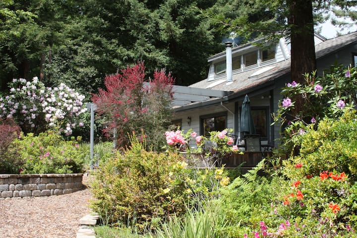 A Home to Gather Friends & Family in the Redwoods - Occidental - House