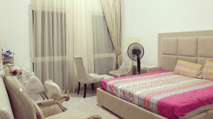 Beautiful furnished specious entire 1 bhk flat