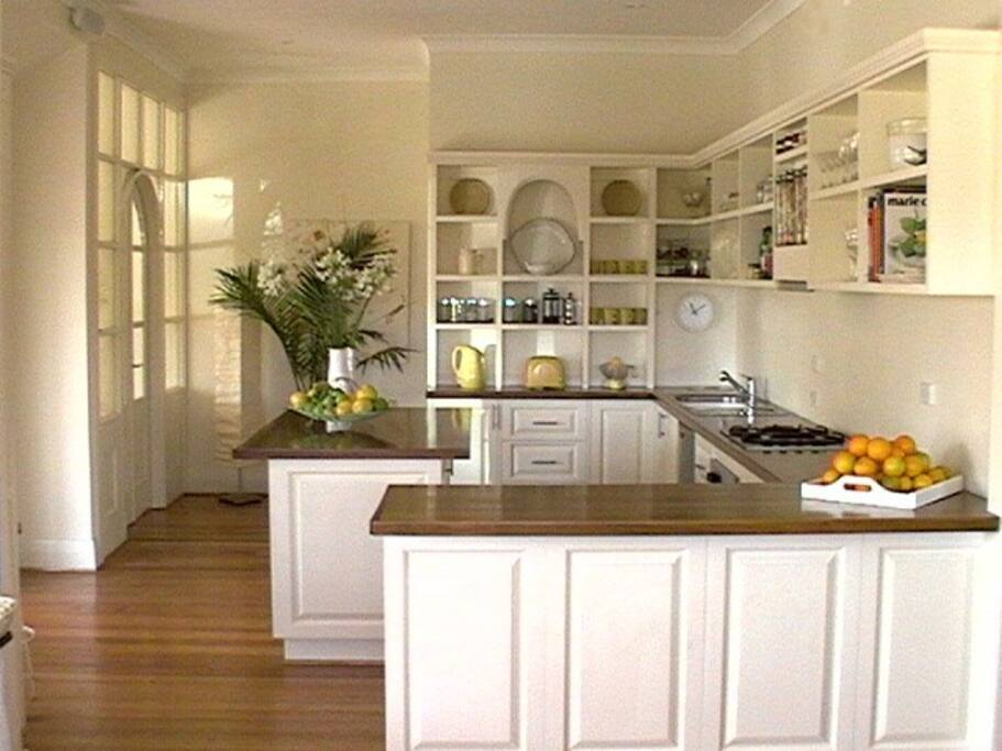 Large country fully equipped kitchen