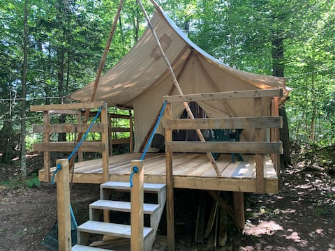 Ô Roosters Prospector tent 2-4 people