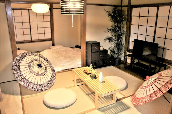 Great room @ 浅草Asakusa&Near新宿JR 2mins+Wifi MAX10PP - Kōtō-ku - Departamento