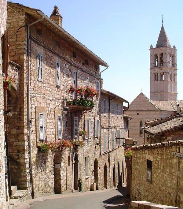 Appartamento Elena - Centro Assisi - Basilica Santa chiara