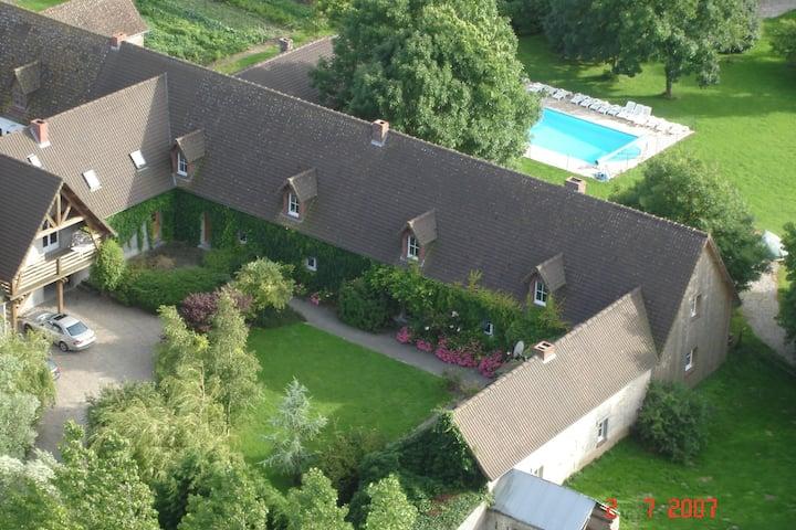 Gemütliches Ferienhaus mit Pool in Quend-Plage-les-Pins