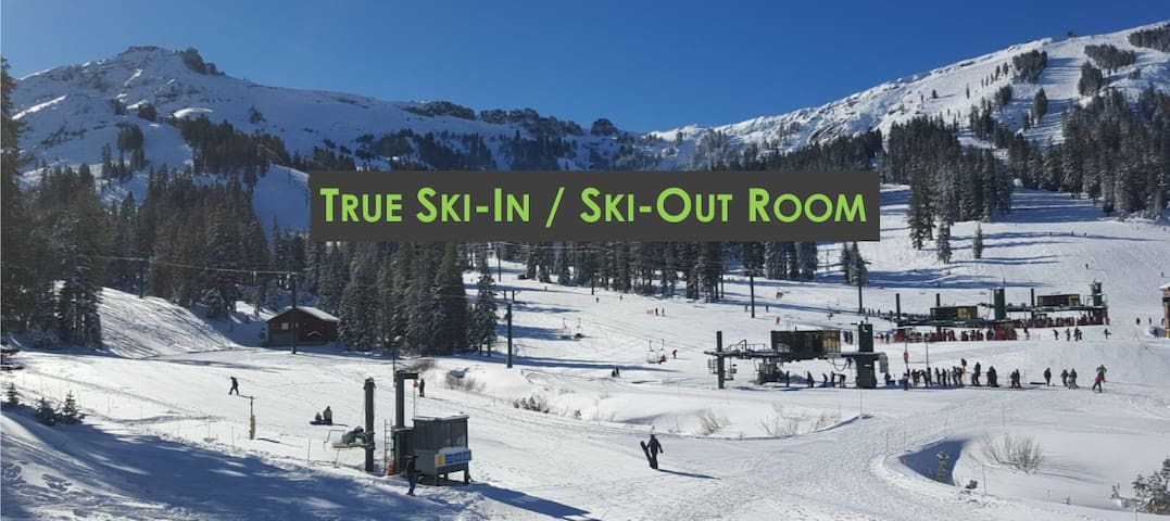 Ski-In/Ski-Out Hotel-Style Room.  Steps to Lifts. - Kirkwood - Condo
