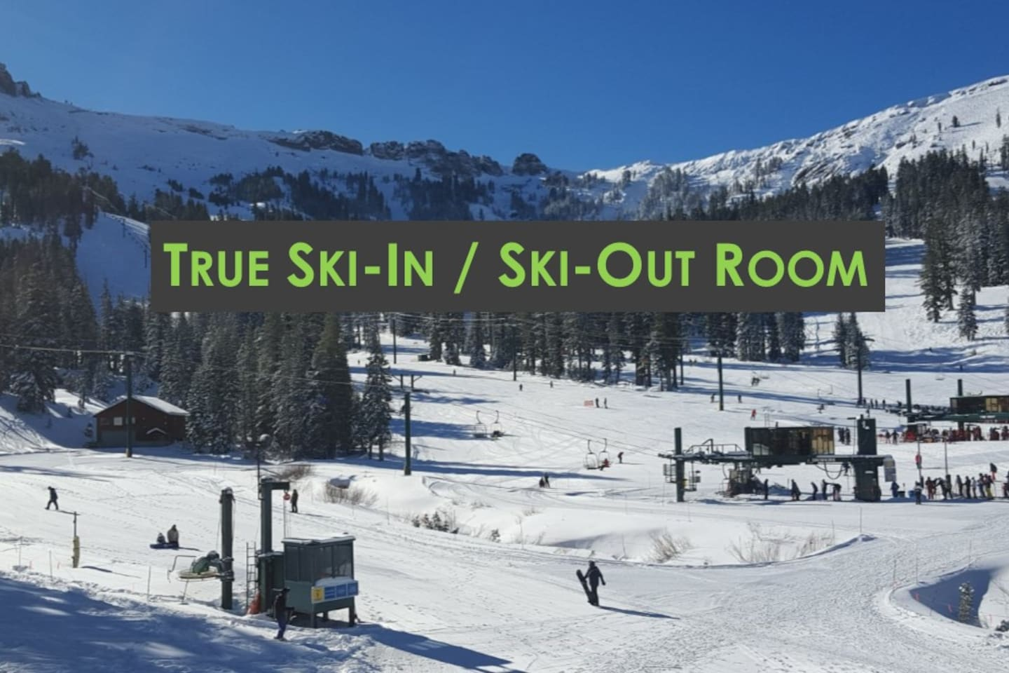 True Ski-In / Ski-Out Room.  Literally Just Steps to the Lifts.