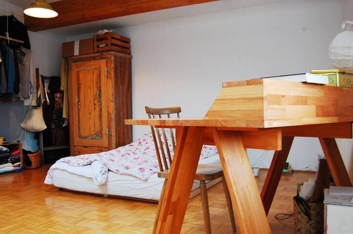 Schönes, helles Zimmer mit Donaublick