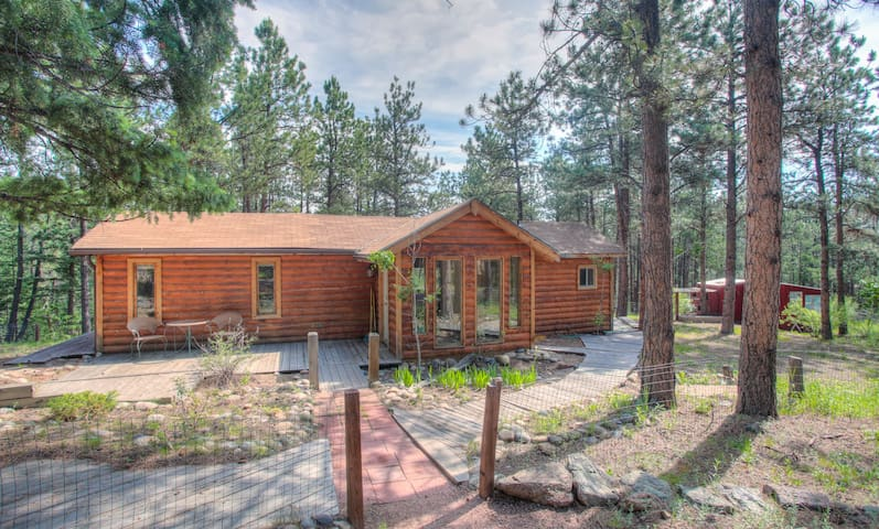 Charming Cabin on Dream Property - Pine - Huis