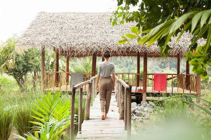 Yoga&Nature Lovers!Wood Studio@ Kundala House Yoga