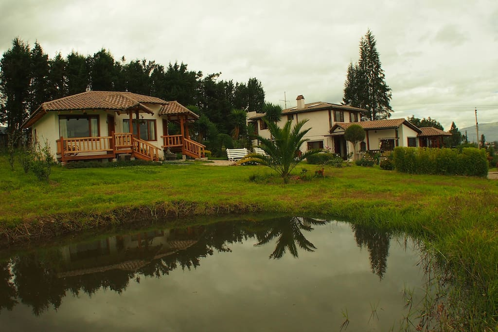 Our bed and breakfast near Quito Airport only 10 minutes