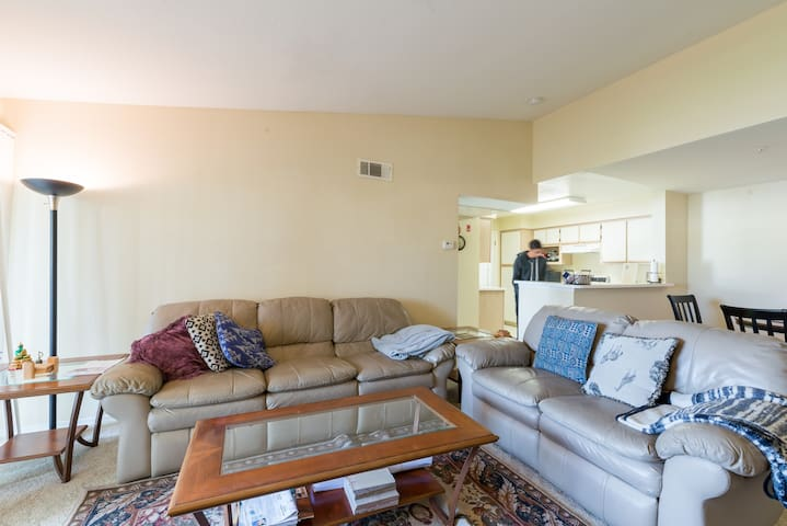 Private Bedroom and Bathroom in 2BR apartment - Sunnyvale