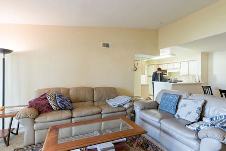 Private Bedroom and Bathroom in 2BR apartment - Sunnyvale - Apartment