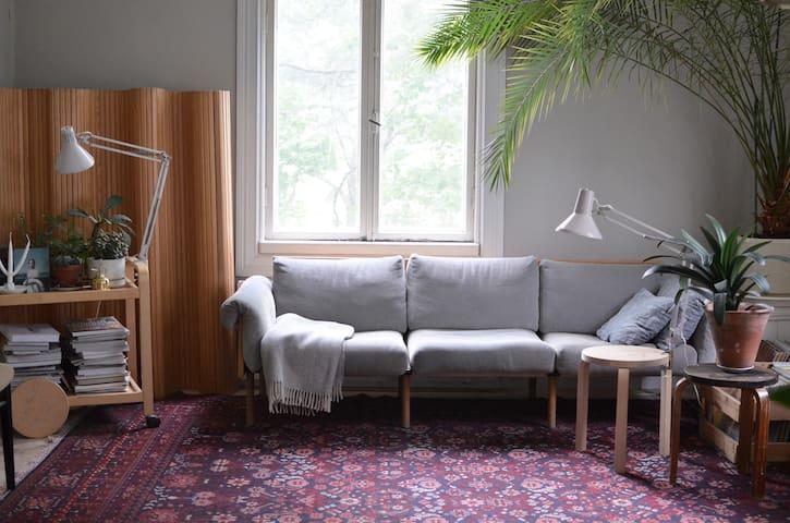 Designer apartment in the riverside