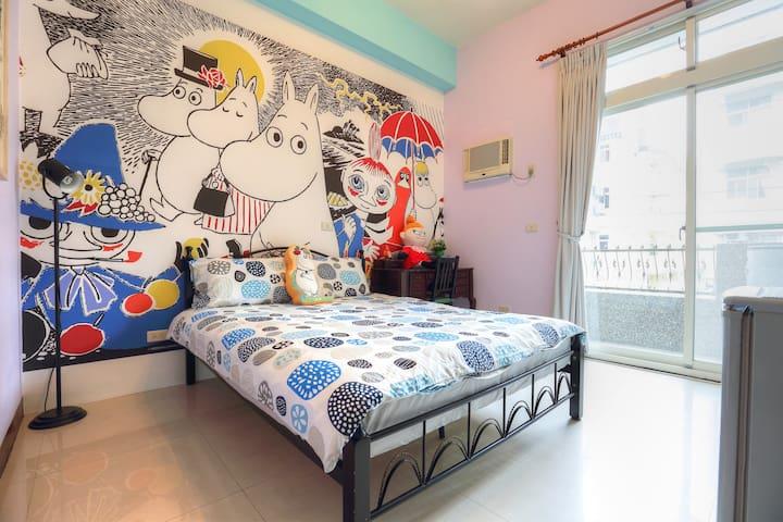 小幸福的雙人房(2A) - Hualien City - Haus