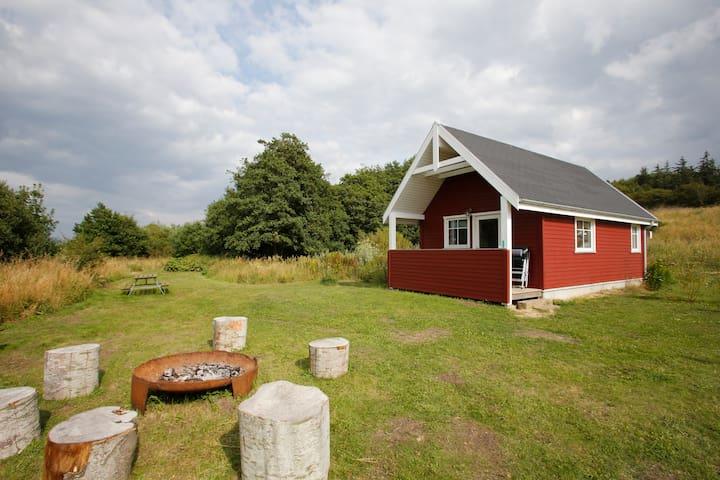 Det lille hus ved Hjarbæk Fjord